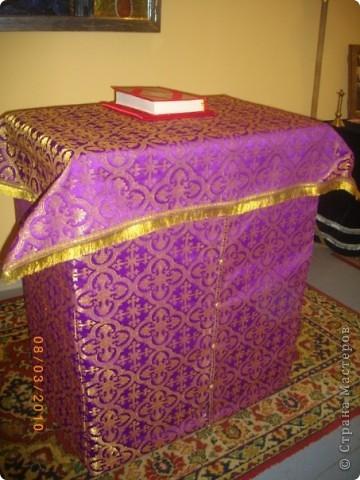 Покровец, воздух, закладка в Евангелие фото 6