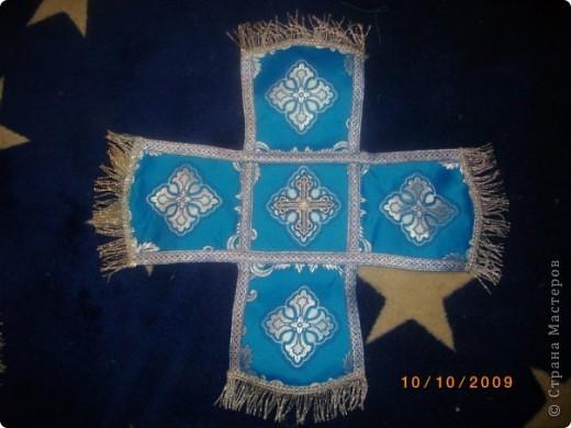 Покровец, воздух, закладка в Евангелие фото 3