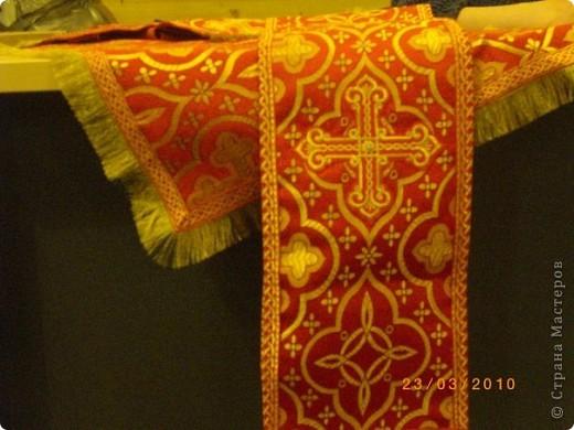 Покровец, воздух, закладка в Евангелие фото 2