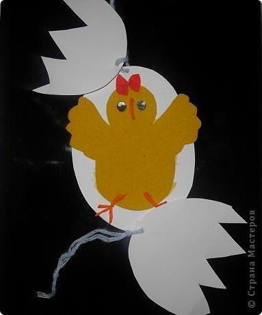 Цыпленок из яйца...)): фото 3
