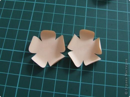 Открытка + небольшой МК по созданию цветка фото 8