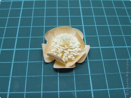 Открытка + небольшой МК по созданию цветка фото 10