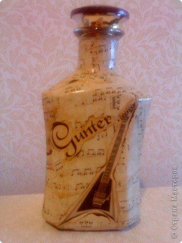 Спасибо всем, кто помогал мне советами! Бутылочка готова и завтра будет подарена. фото 1