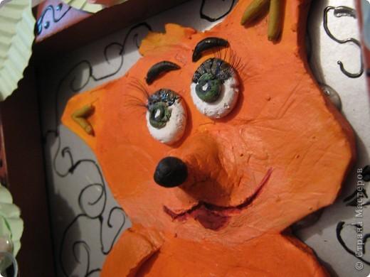 Лиса слепилась в подарок на день Рождения моей мамы, любительницы лис во всех исполнениях)) фото 4