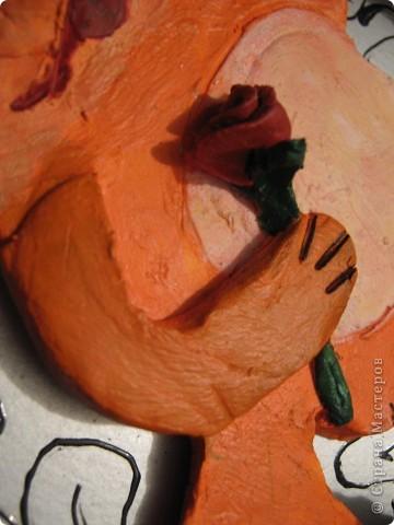 Лиса слепилась в подарок на день Рождения моей мамы, любительницы лис во всех исполнениях)) фото 5