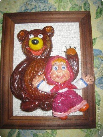 Маша и медведь. Спасибо за идею Ларисе Ивановой фото 1