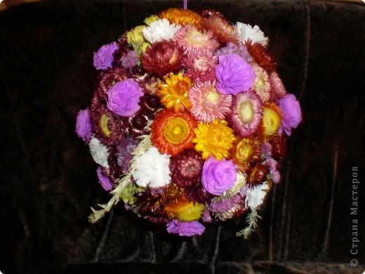 Цветочный шар. фото 1