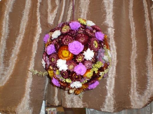 Цветочный шар. фото 2