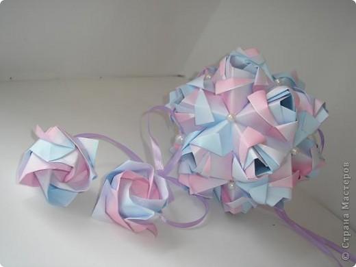 Новенькое!!!! Кусудама Little Rose Автор Мария Синайская фото 6