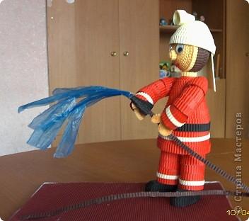 Поделка на тему пожарной безопасности своими руками