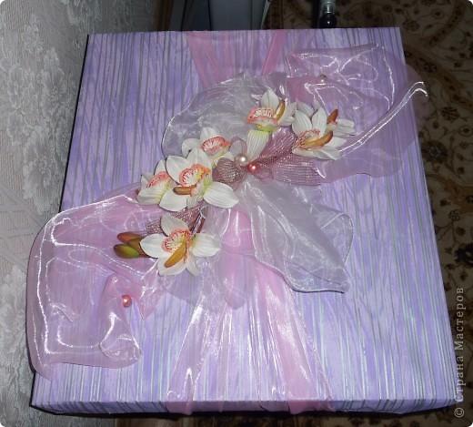 Подарок на свадьбу!Упаковка!