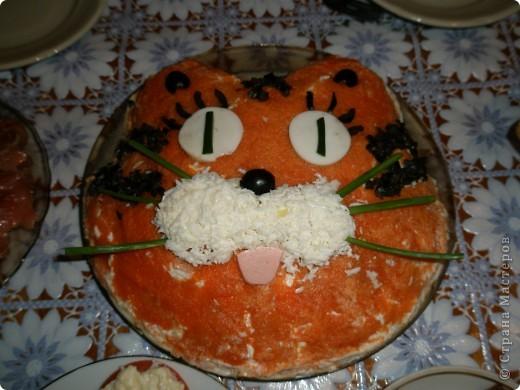 еще один тигра в день рождения сына