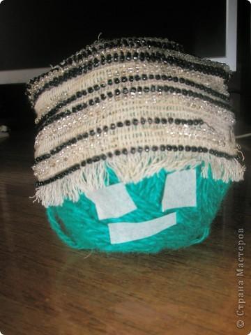 шапочка из бисера фото 1