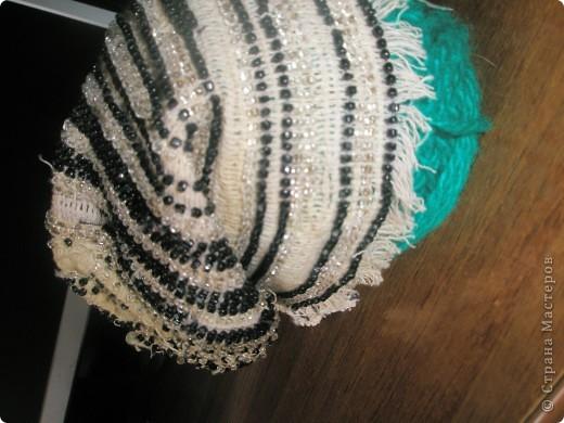 шапочка из бисера фото 2