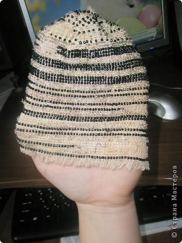 шапочка из бисера фото 4