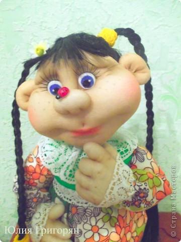 Долго думала над именем для моей куклы, но кроме лета она у меня не с чем не ассоциируется. Так что теперь у меня есть частичка лета!!! фото 3