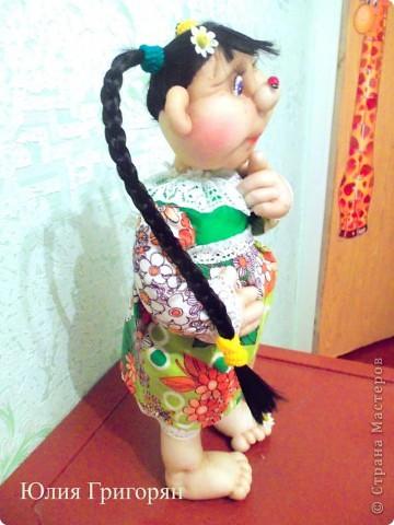 Долго думала над именем для моей куклы, но кроме лета она у меня не с чем не ассоциируется. Так что теперь у меня есть частичка лета!!! фото 4