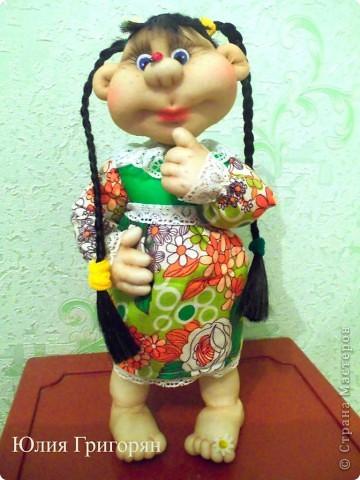 Долго думала над именем для моей куклы, но кроме лета она у меня не с чем не ассоциируется. Так что теперь у меня есть частичка лета!!! фото 2