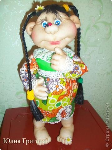 Долго думала над именем для моей куклы, но кроме лета она у меня не с чем не ассоциируется. Так что теперь у меня есть частичка лета!!! фото 1