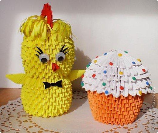Цыплята и куличи к Пасхе фото 4