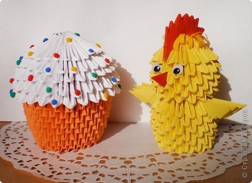 Цыплята и куличи к Пасхе фото 1
