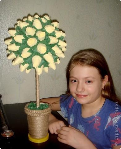 моё счастье и дерево из роз фото 1