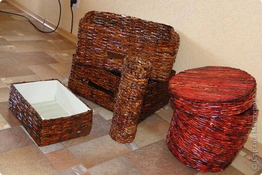 Коробочки-плетеночки фото 6