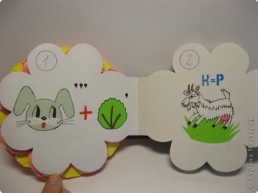 В школе нам задали сделать книжку-малышку. А я очень люблю отгадывать ребусы, загадки, поэтому  и решила сделать вот такую книжку. фото 3