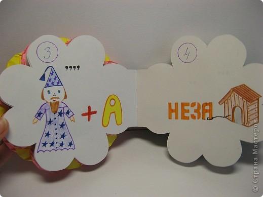 В школе нам задали сделать книжку-малышку. А я очень люблю отгадывать ребусы, загадки, поэтому  и решила сделать вот такую книжку. фото 4