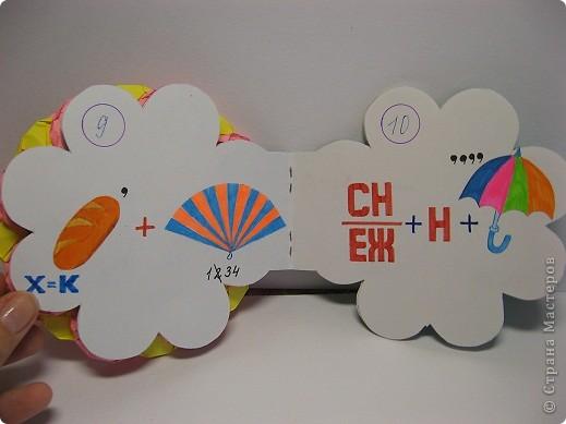 В школе нам задали сделать книжку-малышку. А я очень люблю отгадывать ребусы, загадки, поэтому  и решила сделать вот такую книжку. фото 7
