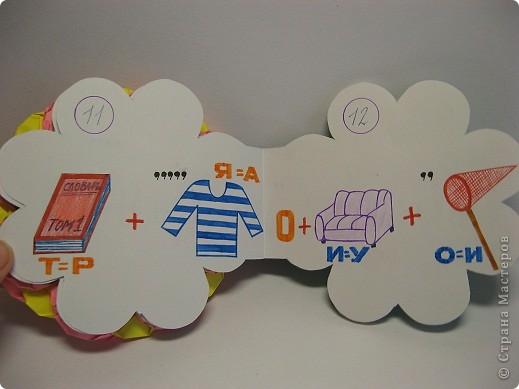 В школе нам задали сделать книжку-малышку. А я очень люблю отгадывать ребусы, загадки, поэтому  и решила сделать вот такую книжку. фото 8