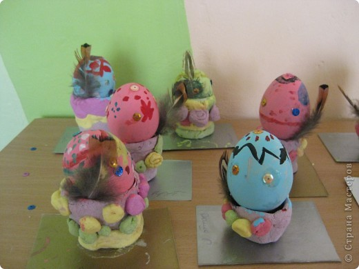 Эти яички делали мои детки- шестилетки!  фото 4