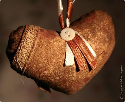 Сердечко кофейное фото 1
