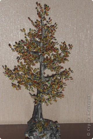 бисерные деревья фото 5