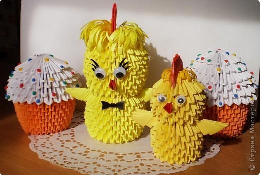 Цыплята и куличи к Пасхе фото 5