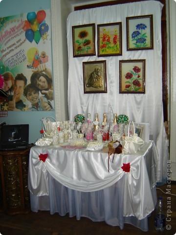 В начале свадебного сезона в нашем городе проходила Свадебная Ярмарка. Вот и я поучаствовала.  фото 3