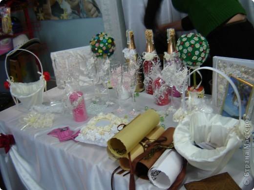 В начале свадебного сезона в нашем городе проходила Свадебная Ярмарка. Вот и я поучаствовала.  фото 4
