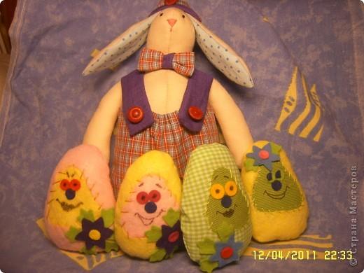 Доброго времени суток всем зашедшим на огонёк! Вас приветствуют пасхальные развесёлые яйца :) идея взята тут  ⪡ Ссылка удалена п. 2.4 http://stranamasterov.ru/print/regulations ⪢ фото 7