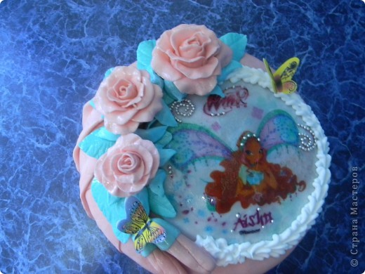 Тортики для двойняшек фото 3
