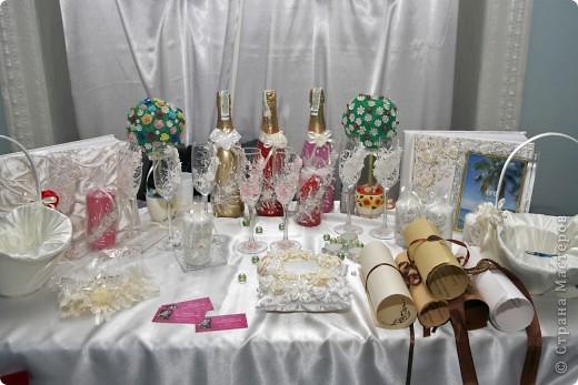В начале свадебного сезона в нашем городе проходила Свадебная Ярмарка. Вот и я поучаствовала.  фото 2