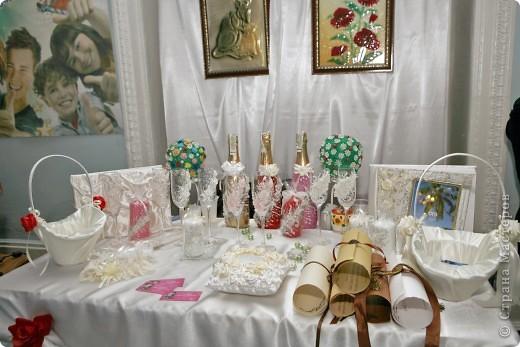 В начале свадебного сезона в нашем городе проходила Свадебная Ярмарка. Вот и я поучаствовала.  фото 1