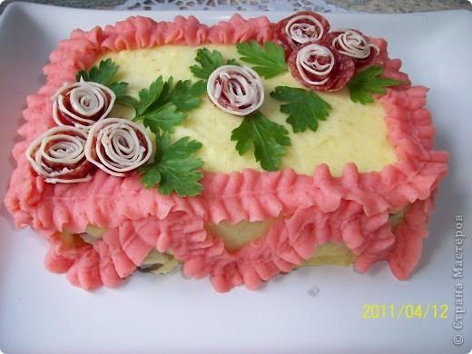 Картофельный торт фото 7