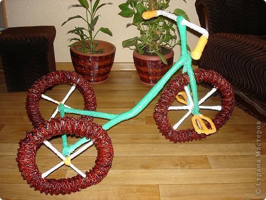 Мой газетный велосипедик фото 1