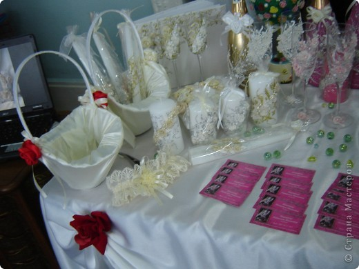 В начале свадебного сезона в нашем городе проходила Свадебная Ярмарка. Вот и я поучаствовала.  фото 6