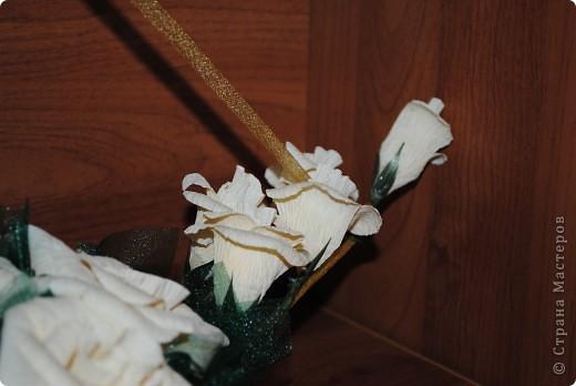 Долго искала в продаже органзу нужного оттенка, хотелось вот такой цветочный корабль попробовать сделать. Результатом довольна.  фото 2