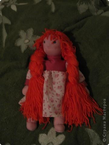 Мои куклы. Шила как Вальдорфские куклы, но материалы не соответствуют) фото 3