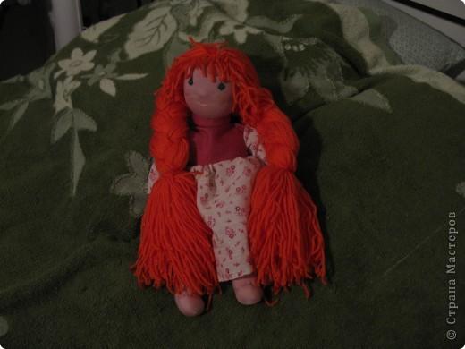 Мои куклы. Шила как Вальдорфские куклы, но материалы не соответствуют) фото 4