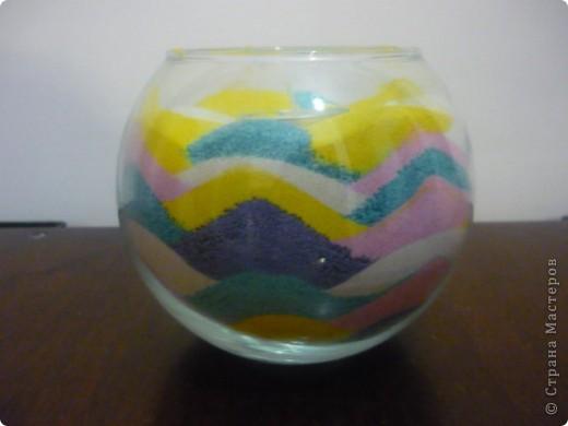 Мои новые работы с песком фото 2