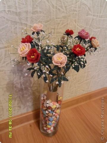 А это моя дочурка с розами фото 2