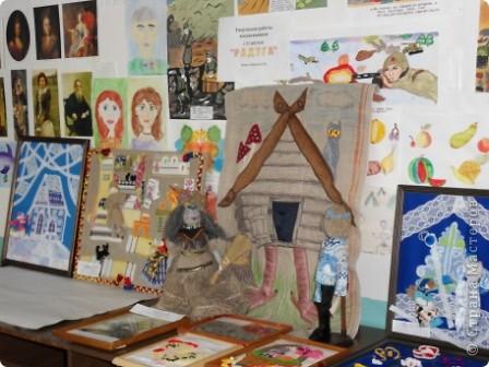 """Дом самого Морозко - сказка """"Морозко"""" Аппликация из ткани, народная кукла. фото 12"""